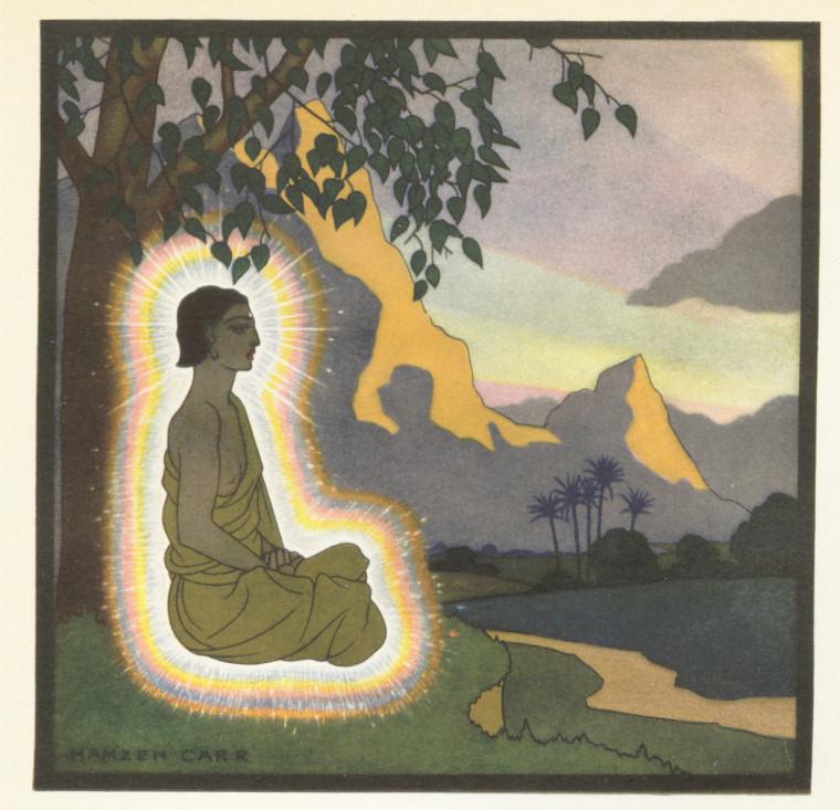 Buddha Under Bo Tree